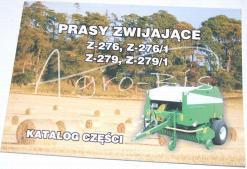 katalog prasy Z-276 z-279