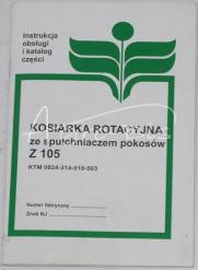 KATALOG KOSIARKI Z-105