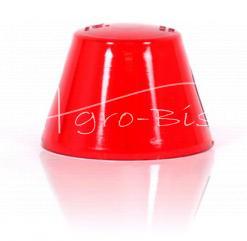 Klosz lampy obrysowej WYSOKI czerwony 0089
