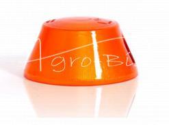 Klosz lampy obrysowej NISKI pomarańczowy 0097