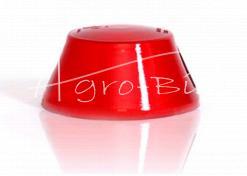 Klosz lampy obrysowej NISKI czerwony 0098