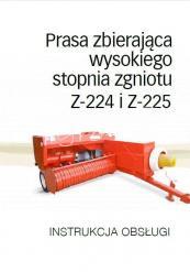 instrukcja obsługi prasy z-224 z-225