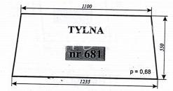 SZYBA TYLNA C-360