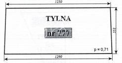 Szyba NR.777