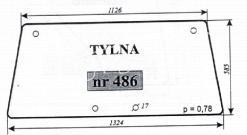 SZYBA TYLNA URSUS-3512 KUNÓW