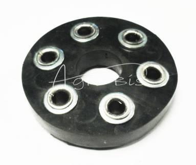 tarcza gumowa rozrzutnika