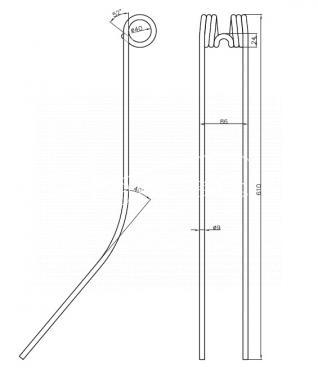PALEC ZGRAB. FELLA TS290 NIEMEYER RS28