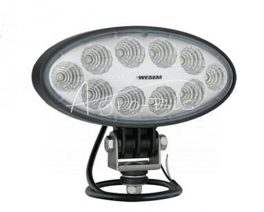 LAMPA ROBOCZA LED OWALNA 174*85 12/24V 3000lm