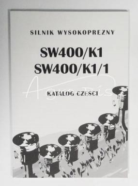katalog części silnika SW-400