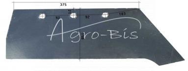 lemiesz do pługa B-200, Hardox 500