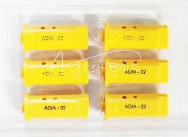 rozpylacz eżektorowy, ceramiczny, żółty