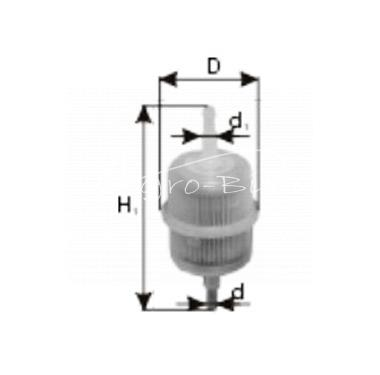 filtr paliwa do Case, Kubota