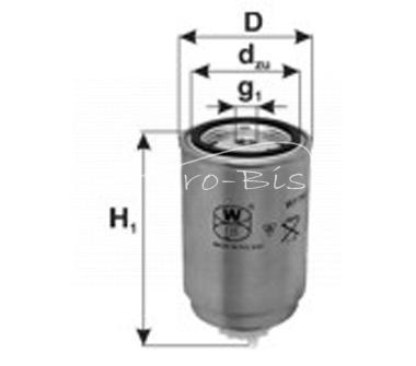 filtr paliwa Case, New Holland