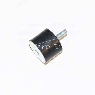 odbój gumowo-metalowy 40x30, 1 śruba M8