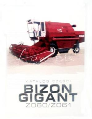 KATALOG CZĘŚCI BIZON GIGANT Z060/Z061