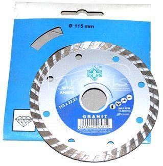 TARCZA DIAMENT 125X22 JET-GRANIT