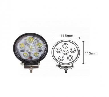 Lampa robocza okrągła LED o skuteczności świetlnej 4200 lumenów