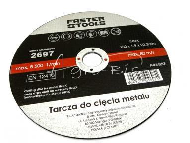 TARCZA DO MET.180X1.9X22