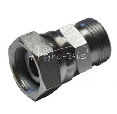 Złączka nakrętna AB  M26x1,5 /   M27x1,5 18L/18L