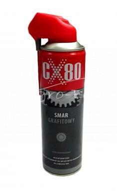 Smar grafitowy spray 500ml CX-80