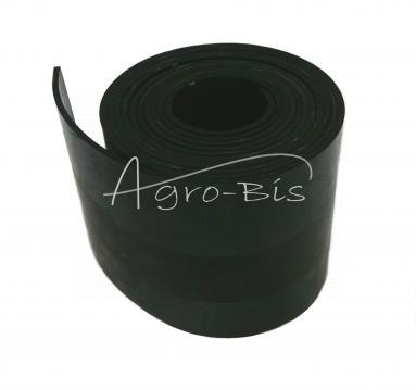 Fartuch gumowy 4000x150x4mm stołu Bizon