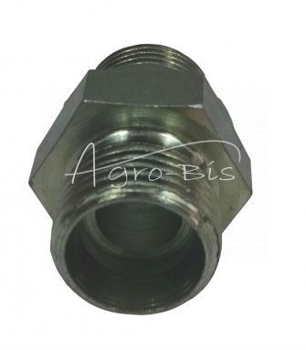 Przyłączka prosta ZN-140 G3/8  /M18x1.5 ED/12L   HS486