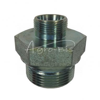 Przyłączka prosta ZN-140  G1.1  /4 / M26X1,5 ED/18L HS546
