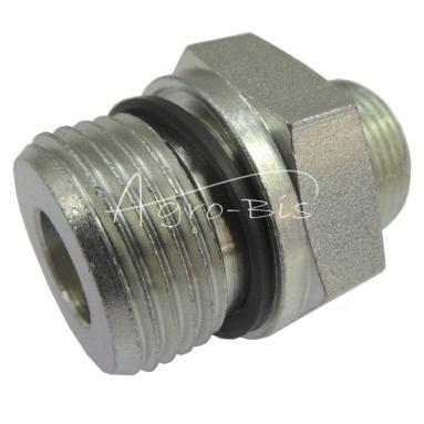 Przyłączka prosta ZN-140  M27x  2/M22x1,5 ED/15L