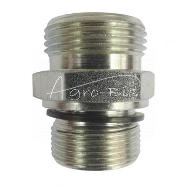 Przyłączka prosta ZN-140  M27x  1,5/M30x2 ED/22L