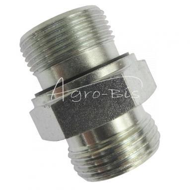 Przyłączka prosta ZN-140  M26x  1,5/M27x2 ED/18L