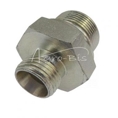 Przyłączka prosta ZN-140  M26x  1,5/M18x1,5 ED/12L