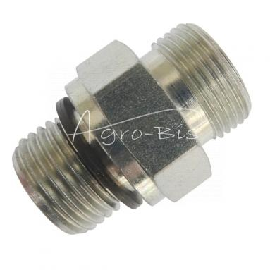 Przyłączka prosta ZN-140  M22x  1,5/M22x1,5 ED/15L