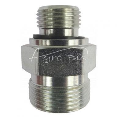 Przyłączka prosta ZN-140  M18x  1,5/M26x1,5 ED/18L -