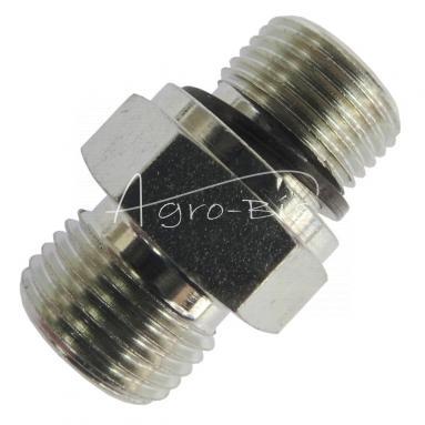 Przyłączka prosta ZN-140  M18x  1,5/M18x1,5 ED/12L
