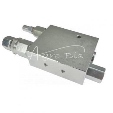 Zawór hydrauliczny VRAP 40/50 DE pługa obrotowego