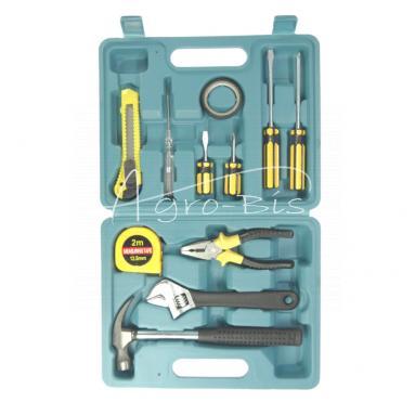Zestaw narzędzi 11 elementów Walizka