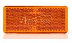 URZĄDZENIE ODBLASKOWE pomarańczowe przyklejane samoprzylepne