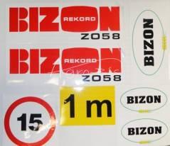 komplet znaków do Bizona Z058 Rekord