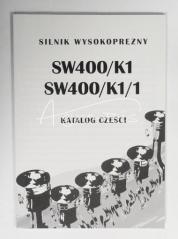 katalog części silnika SW400