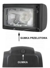 lampa przednia do pojazdów specjalnych