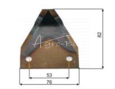 1  Nóż do paszowozu, pionowy, fi otw. 9 mm, gr. 3 mm 30845.0250