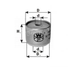 Filtr paliwa MF 4CYL WP405X