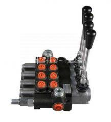 Rozdzielacz hydrauliczny czterosekcyjny  ( 4sekcyjny ) 40L/min