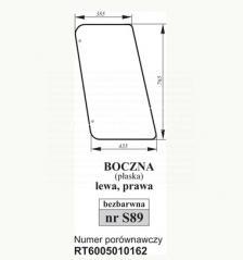SZYBA BOCZNA JOHN DEERE T6005010162