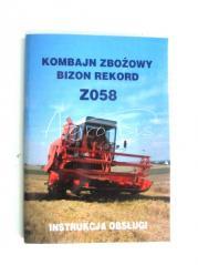INSTRUKCJA NAPRAW BIZON REKORD Z058