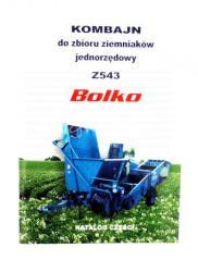 KATALOG CZĘŚCI BOLKO Z543