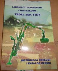 KATALOG I INSTRUKCJA TROL 350 T274 ZAW