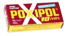 Klej POXIPOL 16g/14ml przezr.