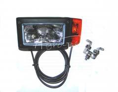 REFLEKTOR H4 L 4F 245X110