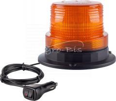 Lampa obrotowa 60 LED na magnes błyskowa ostrzegawcza marki Motorra